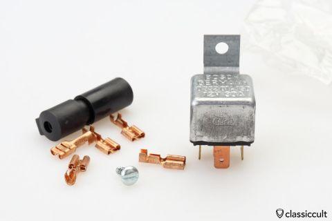 Bosch foglight fanfare relay 12V 30A NOS
