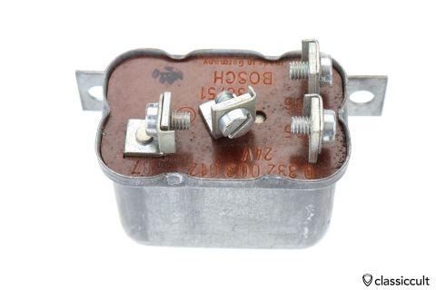24V Bosch Relay 85 86 87 30 # 0332003012 NOS