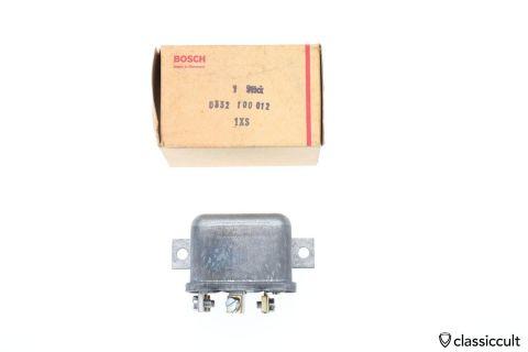 24V Bosch Relay 85 86 87a 30 # 0332100012 NOS