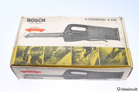 Bosch Automobile vacuum cleaner 6v