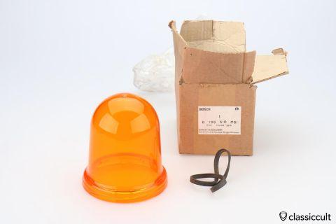 Bosch RKLE 90 rotary beacon lens NOS