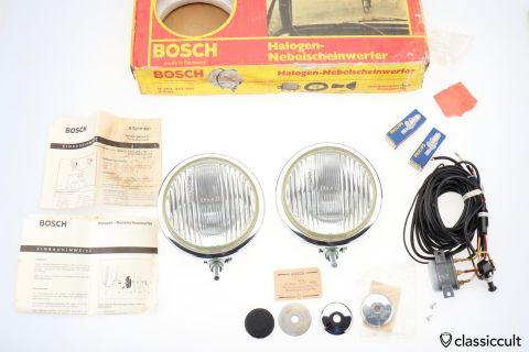 Bosch Halogen fog lights K8253 NOS