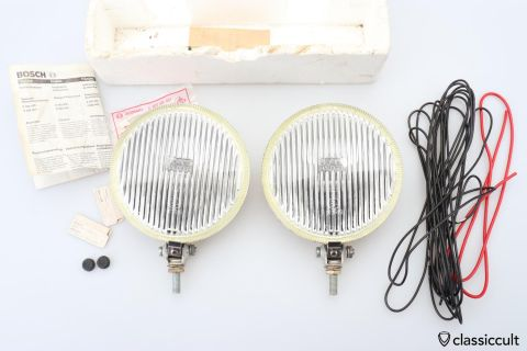 1978 Bosch Halogen fog lights NOS