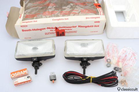 Bosch Halogen fog lamps NOS