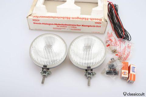 Bosch Halogen fog lights 12V NOS