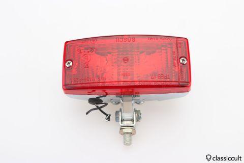 red Bosch chrome fog lamp K8413