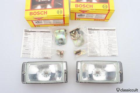 Bosch Halogen lights Pilot 150 Style NOS