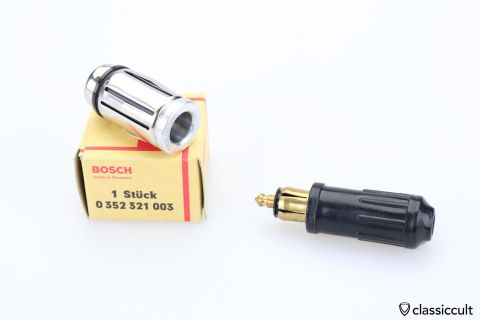 Bosch dash light lamp plug connector NOS
