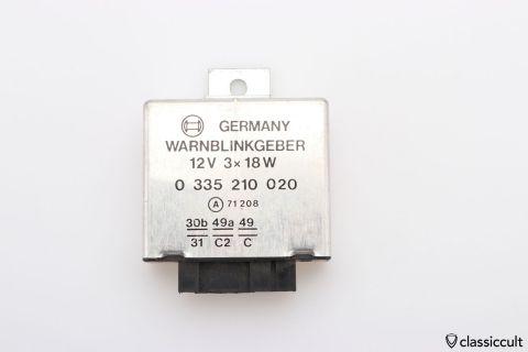 12V Bosch emergency relay 0335210020