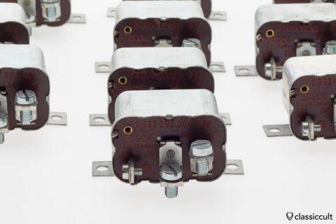Classic Bosch fog light relay 12v screw terminal NOS