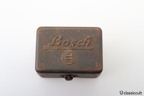 Vintage Bosch Script Spare Bulb Lamp Box 50ies