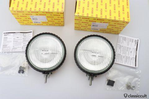 Bosch Touring 165 Halogen fog lamps NOS