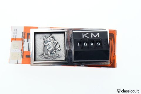 Christophorus KM Miles Counter NOS