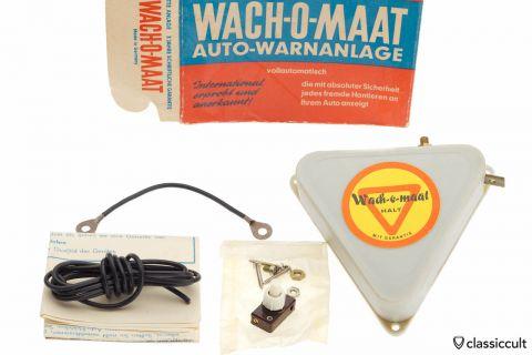Alarm System WACH-O-MAAT VW Beetle Porsche NOS