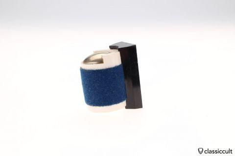 blue Magnetic coin holder VW Beetle