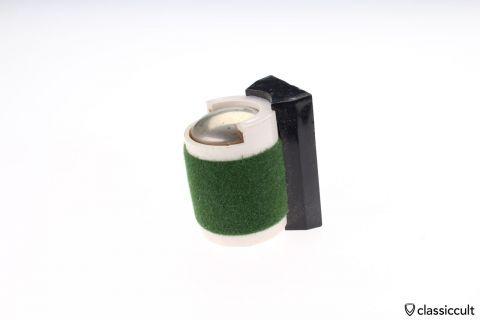 green Magnetic coin holder VW Bug