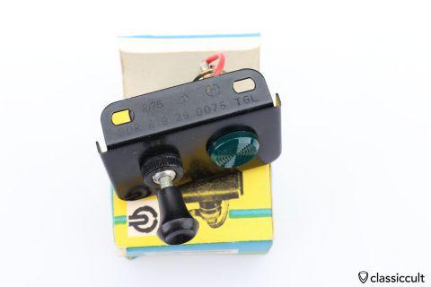 DDR AKA VEB fog lamp switch Trabant NOS