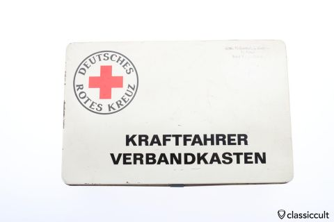 Vintage Deutsches Rotes Kreuz first aid