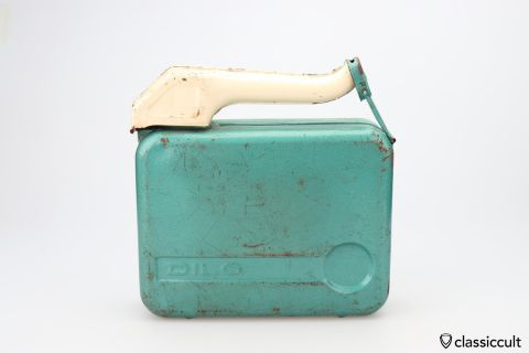 DILO 5L Jerry gas can 60ies Germany