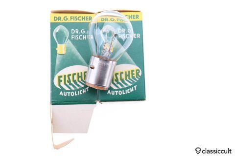 DR FISCHER 12V 35W BA20 bilux bulb NOS