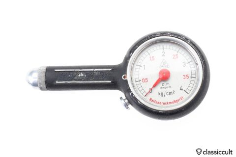 DRAEGER Tyre Pressure Gauge strong used