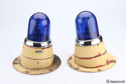 2x Eisemann RKLE 90 blue light beacon