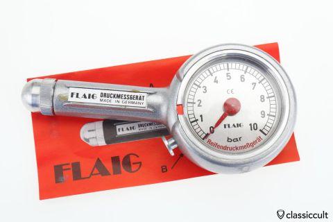 FAIG Germany tire-pressure gauge 10-BAR