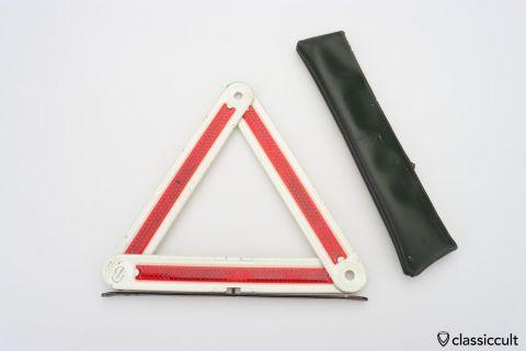 Feuerhand Rubin hazard triangle 60ies