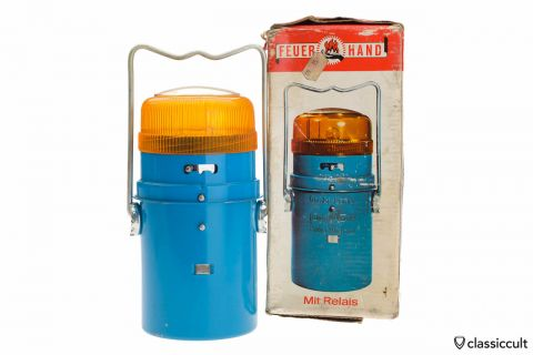 Vintage VW Feuerhand Breakdown Lamp