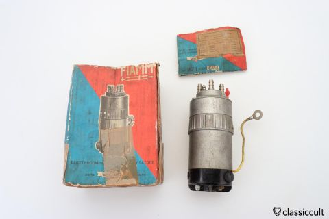 FIAMM MERCURY Fanfare Horn Compressor 6V