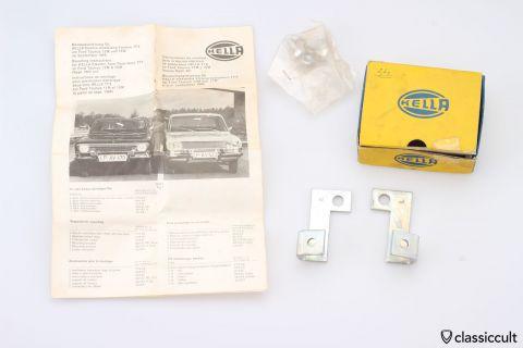 Ford Taunus 12M 15M Hella Fanfare Horn brackets NOS