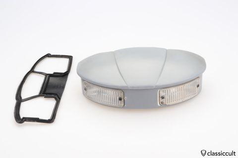 VW Bug Gabel backup reverse light with lens crack