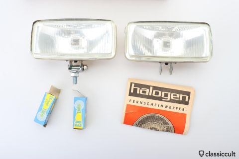 GABEL H3 HALOGEN fog lights 1975