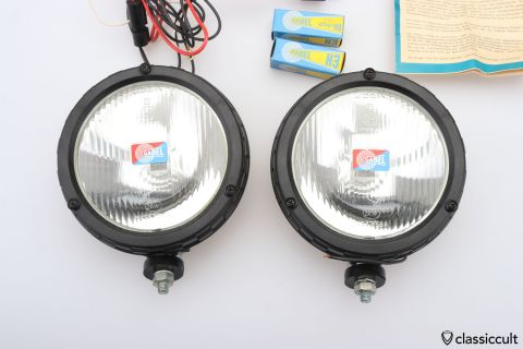 GABEL Halogen H3 foglights NOS