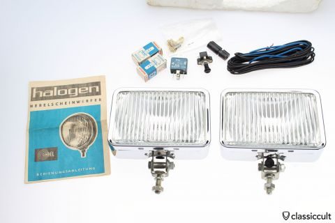 Gabel fog lights Germany NOS