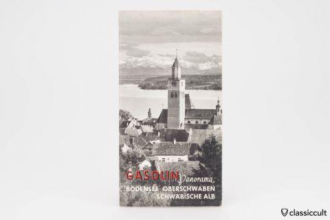Gasolin Lake Constance VW Dealer Map 1956