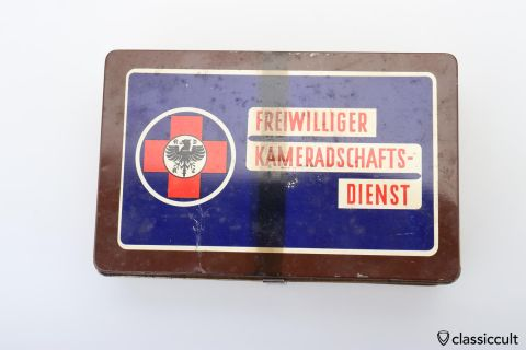German ADAC Auto club first aid 50ies