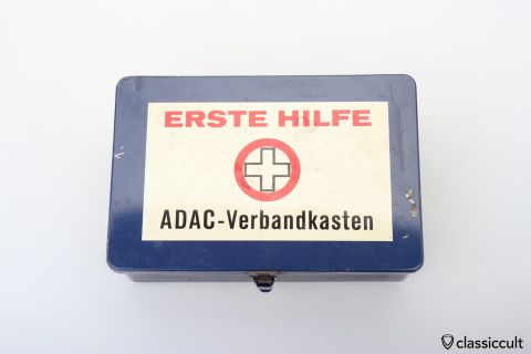German ADAC Auto club first aid 60ies