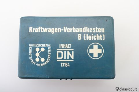 German Car First Aid kit from 1972