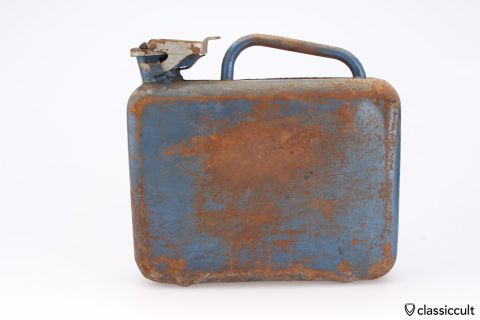 German reserve fuel can 1960