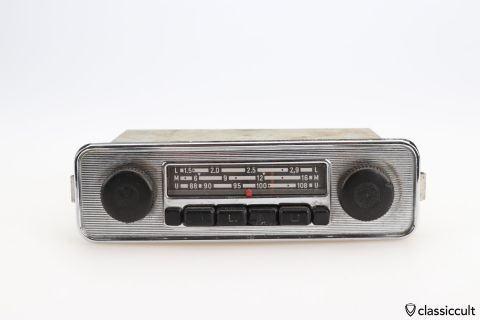 Grundig VW Beetle radio # 111035103K