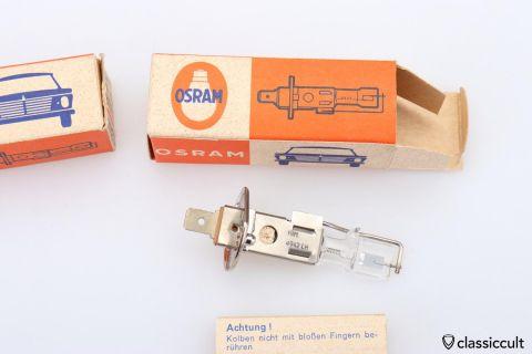 H1 bulb 6V 55W Osram Germany NOS
