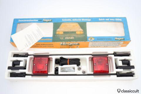 Hagus 3rd Brake Stop Lights BMW 323i E21 NOS