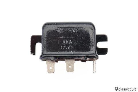 12V HASSIA P31 AKA foglight relay 85 86 87 30