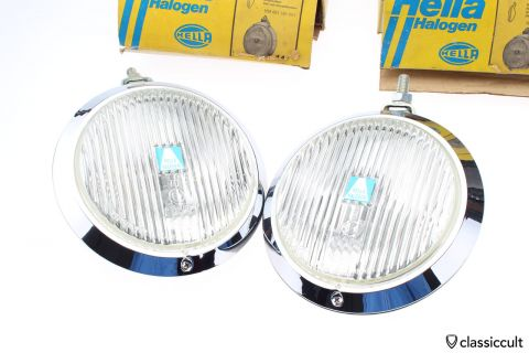 Hella 144 Halogen fog lights NOS