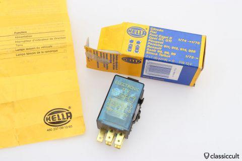Hella flasher 4DM003 460-1 TBB34 NOS