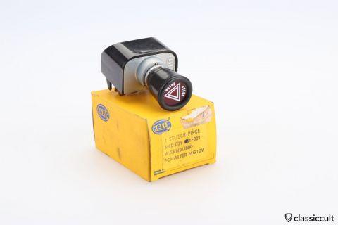 Hella Hazard Switch 6HD 001 561-001 NOS