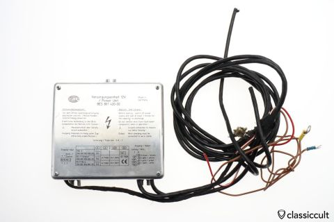 Hella 8ES 861 420-00 BSX 12V Police Flasher Relay