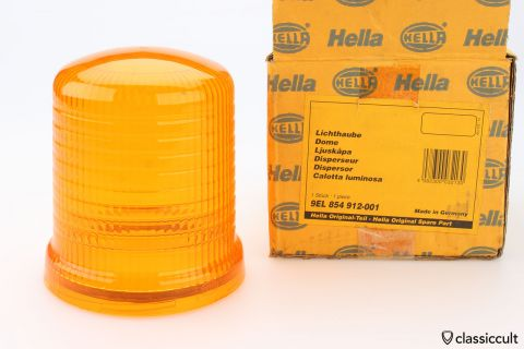 orange Hella KL (J) 70 flash light lens NOS