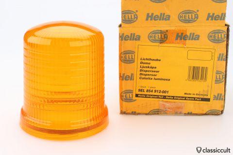 orange Hella KL (J) 70 flash light lens NOS